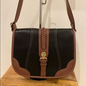 B.O.C. Vegan Leather Crossbody Saddle Bag